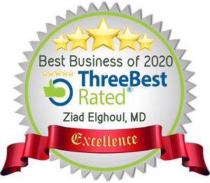 Three Best Award for Dr. Ziad Elghoul